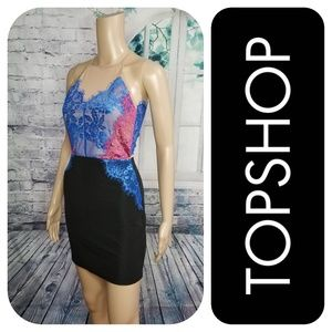 New Fitted Lace Dress By TopShop